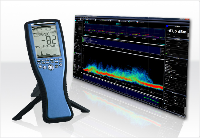 Hight - frequency electromagnetic field analyzer