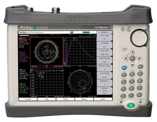 Handheld vector network analyzer