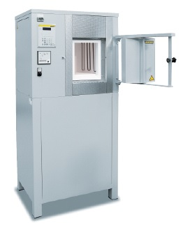 Nabertherm muffle furnace with fiber insulation