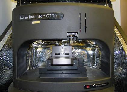 Nanoindenter G200 (MTS -Agilent)
