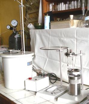 Plain oxygen bomb calorimeter