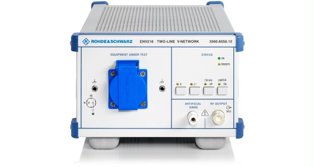AMN ENV216 Two-Line V-Network for disturbance voltage measurements on single-phase EUTs
