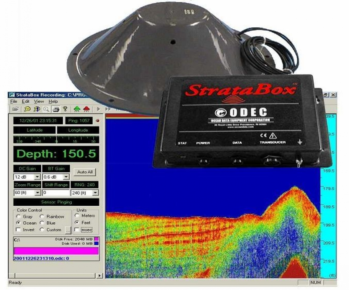 SyQwest Stratabox Sub-bottom profiler