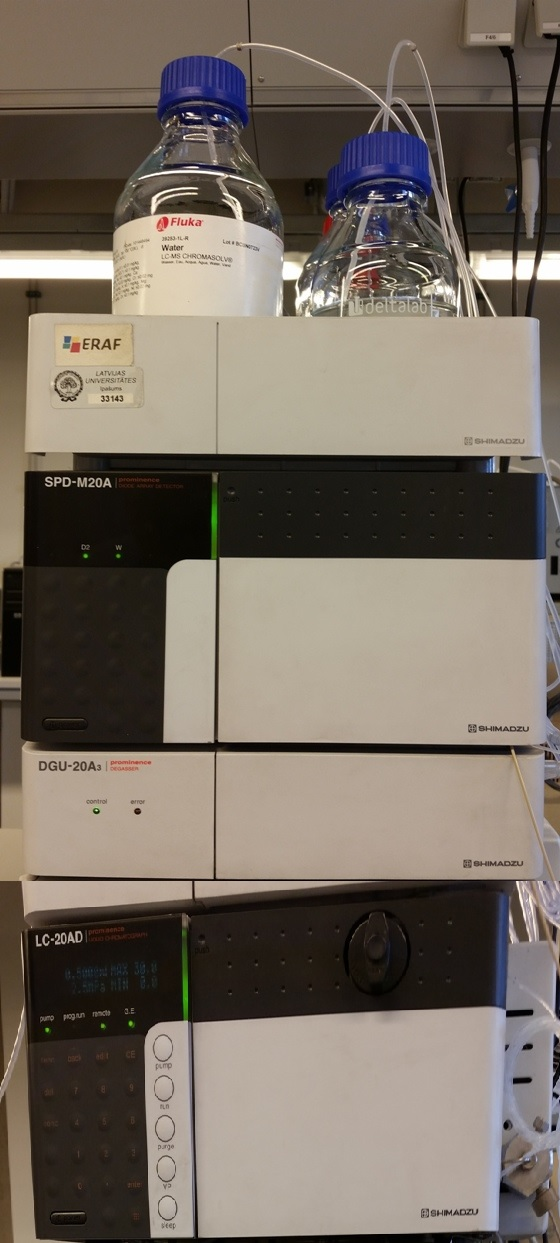 High performance liquid chromatograph, SHIMADZU