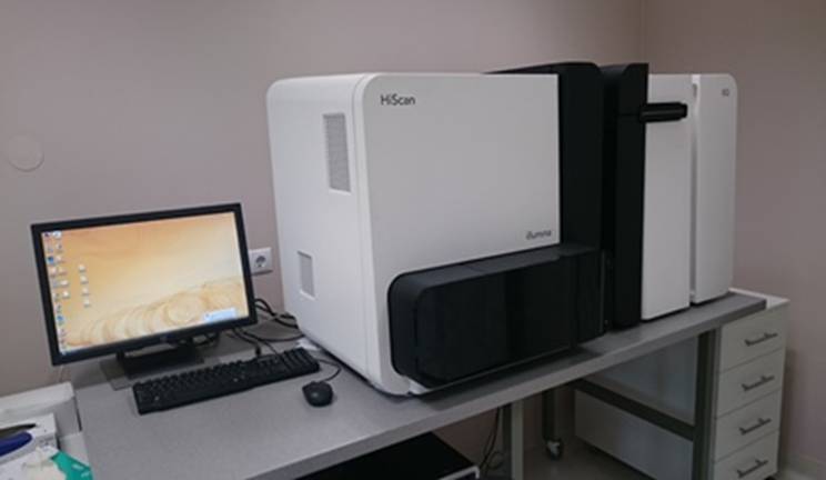 HiScanSQ system for next generation sequencing and microarray-based analyses