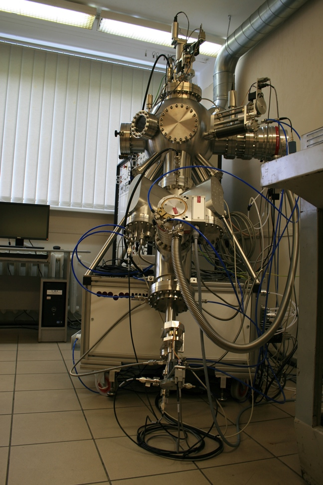 Nanoparticle sputtering system