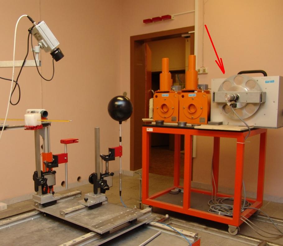 X-ray irradiation system PANTAK PMC-1000