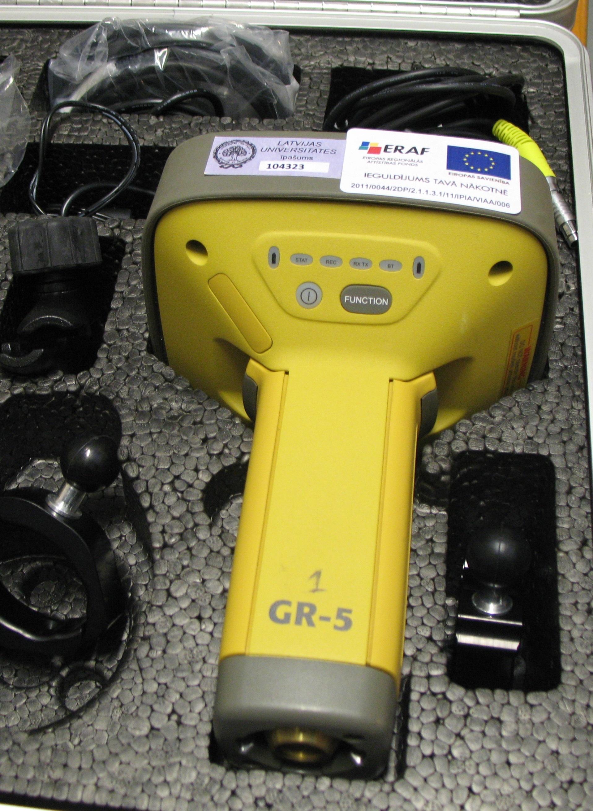 GNSS receiver TOPCON-GR5