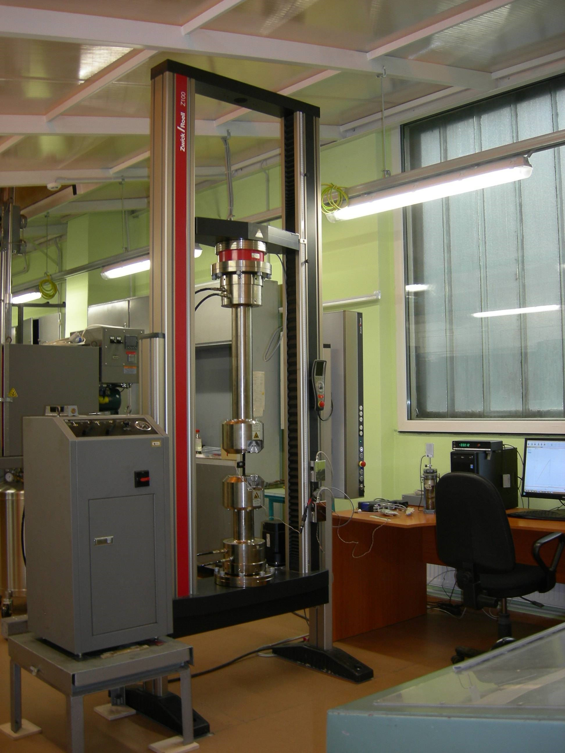 Material testing system