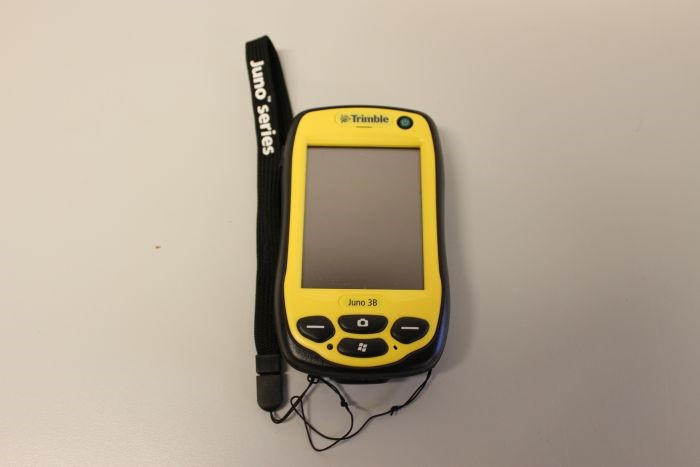 GPS device with special GIS software Trimble Juno 3B