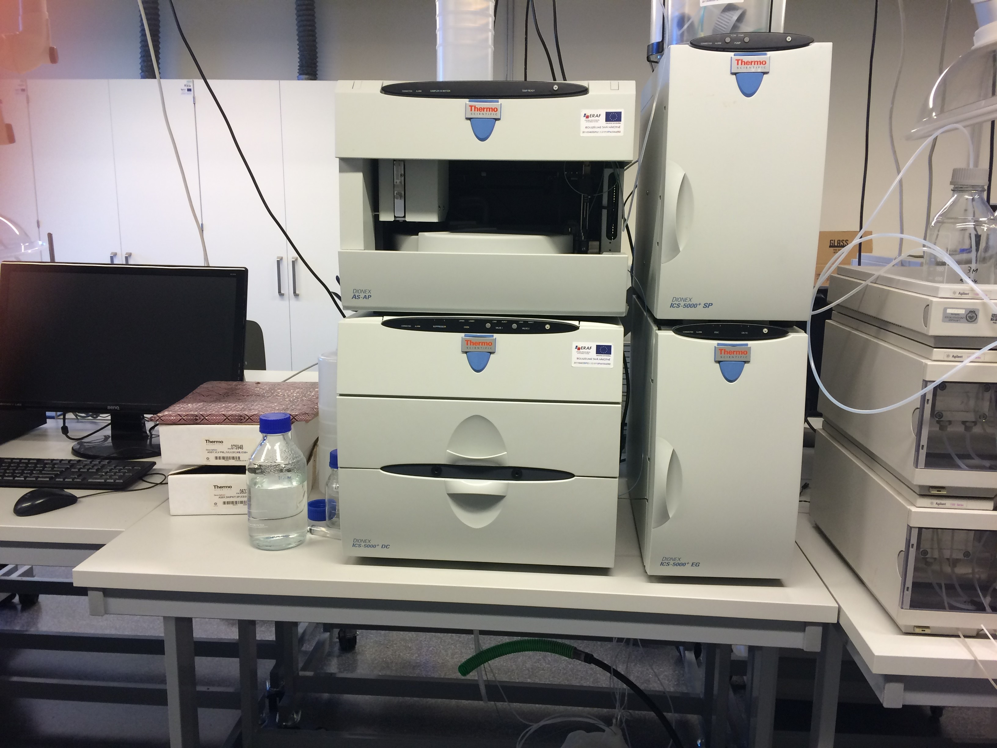 Ion chromatography  and HPLC system DIONEX ICS5000+