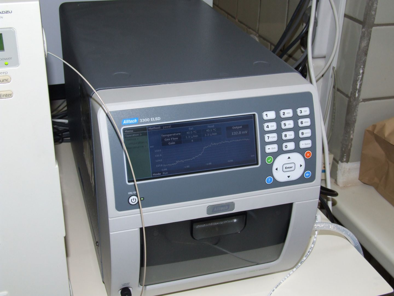 LSD detector for HPLC