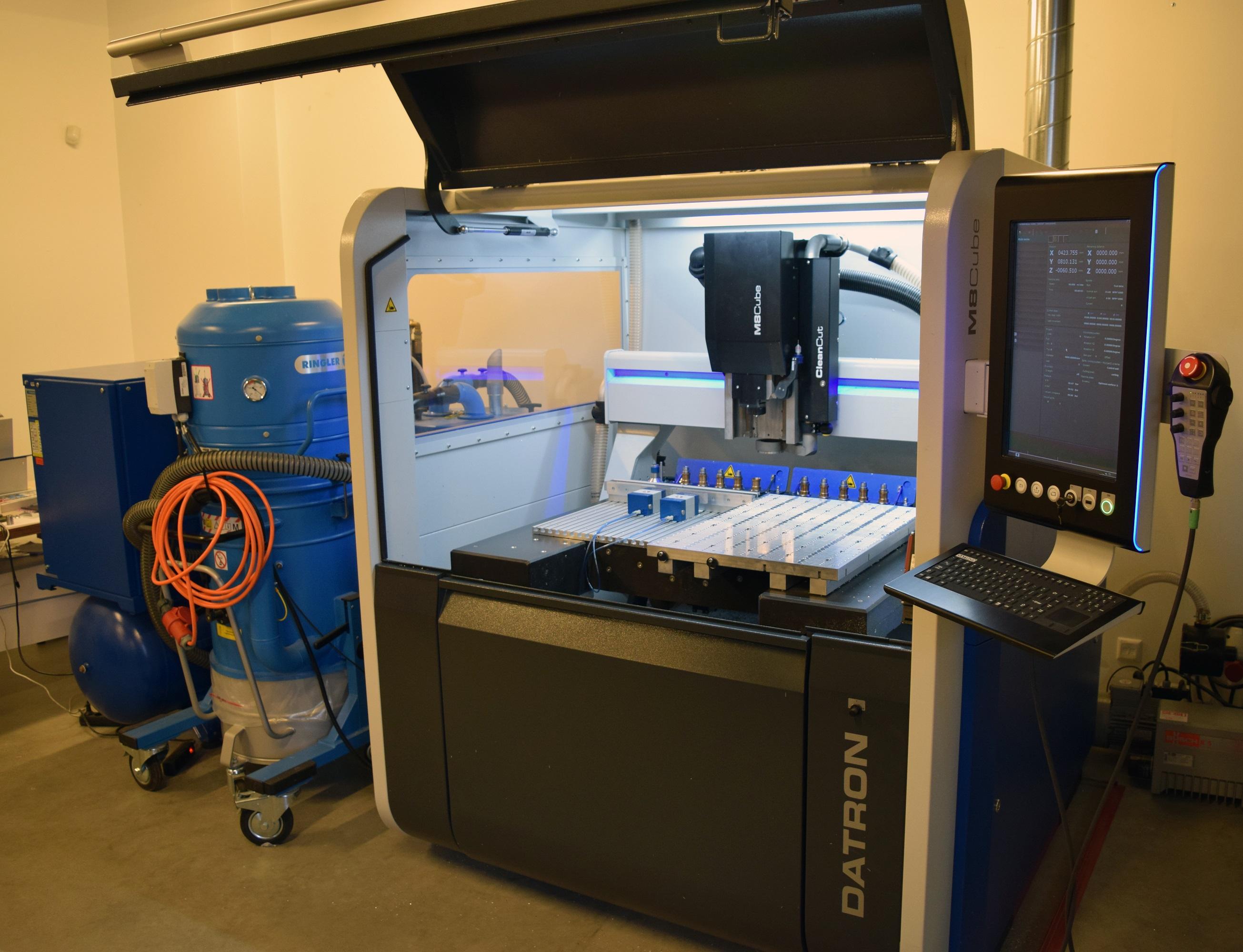 Datron M8CUBE CNC Milling Machine