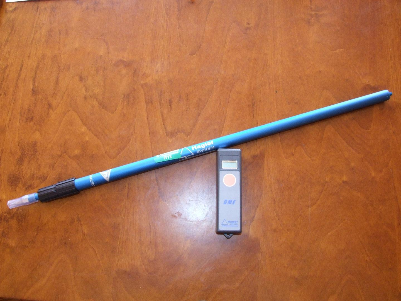 Ultrasonic distance measure