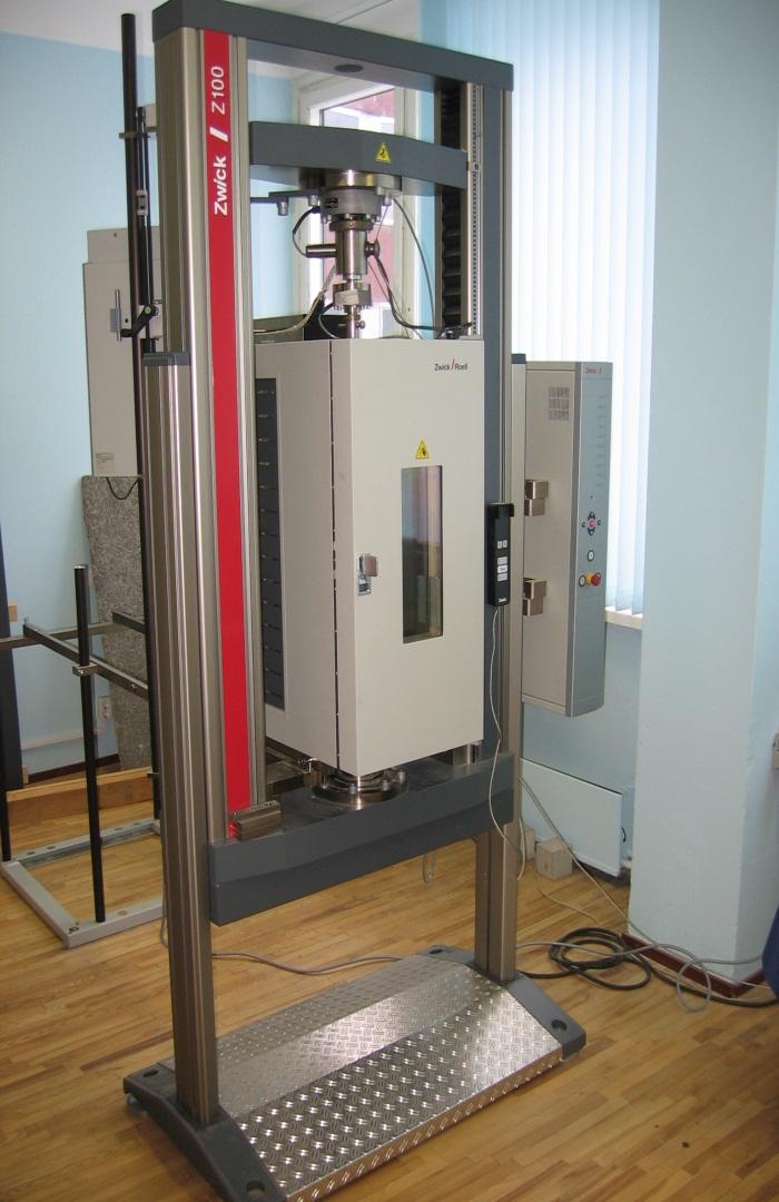 Electromechanical testing device ZWICK BTC-FR100TLMK