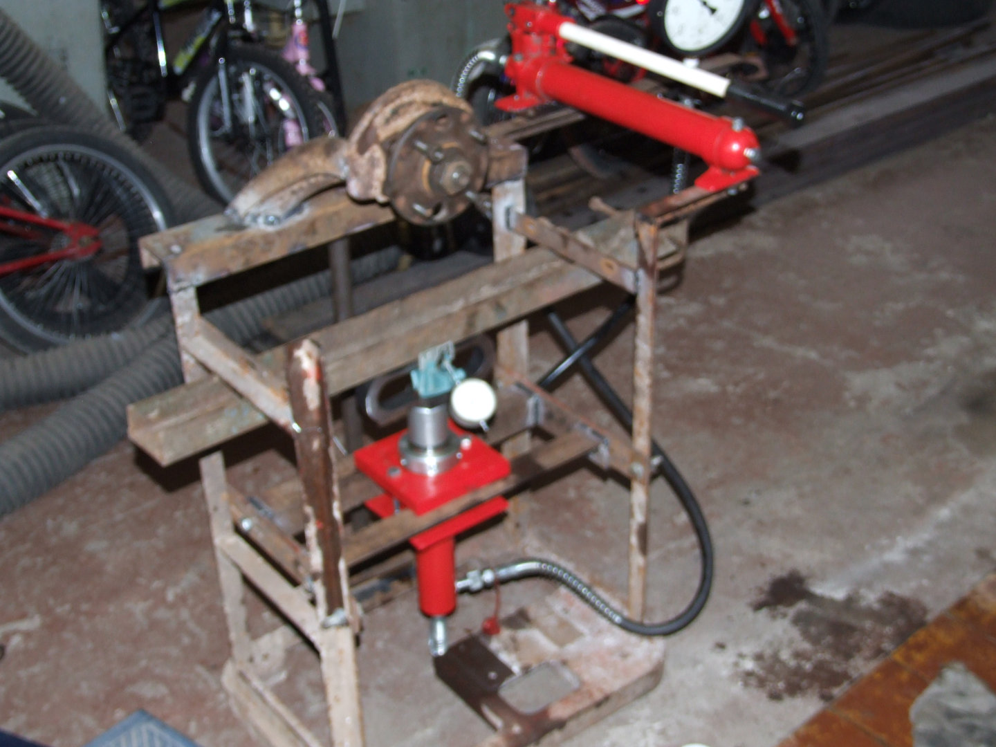 10 Ton Hydraulic Floor Press