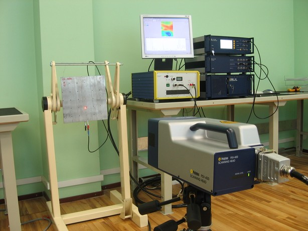 Laser-vibrometer ISI-SYS