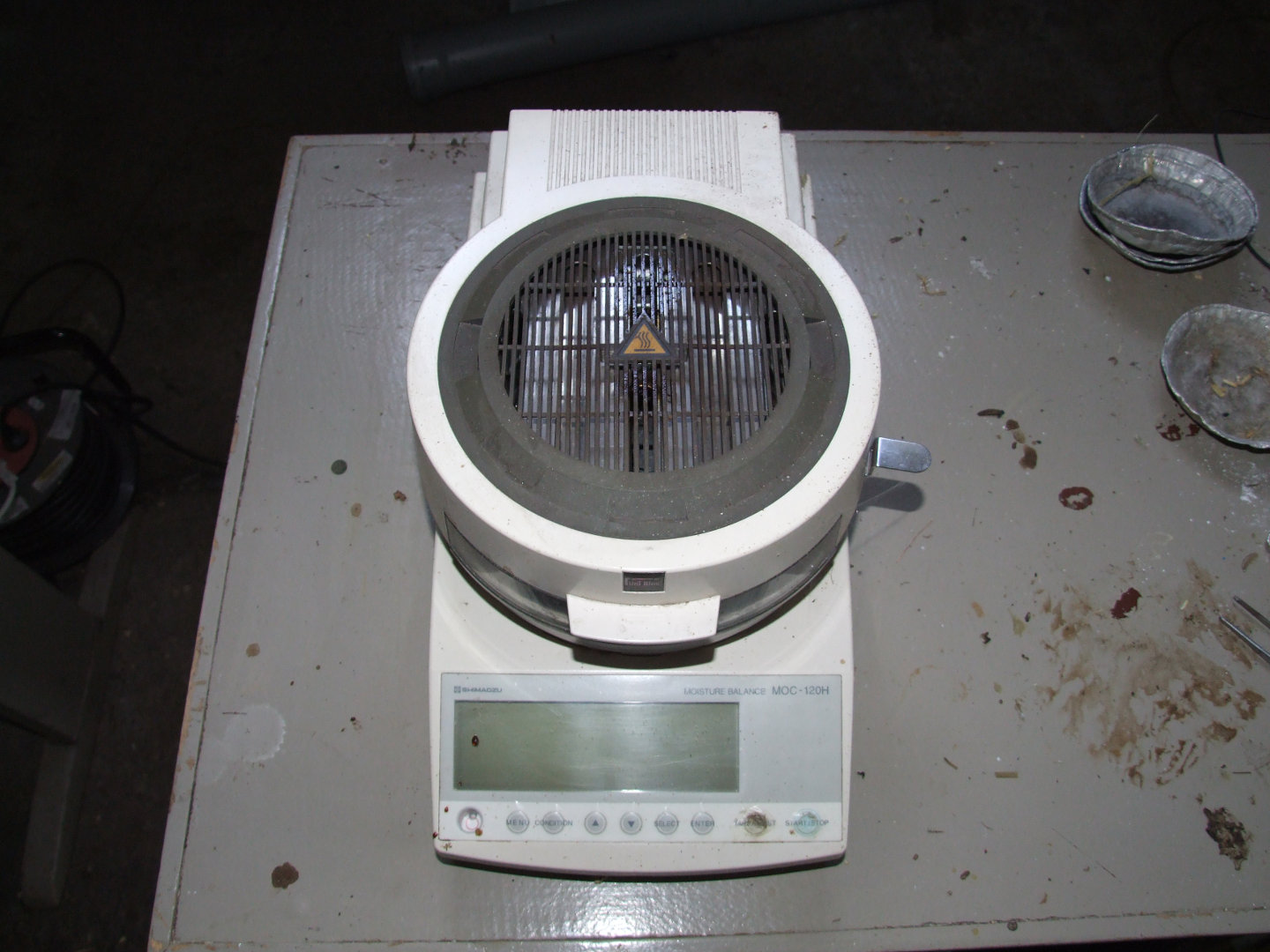 Automatic dryer scales