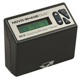 Novo-Shade Duo reflectometer (whiteness degree meter)