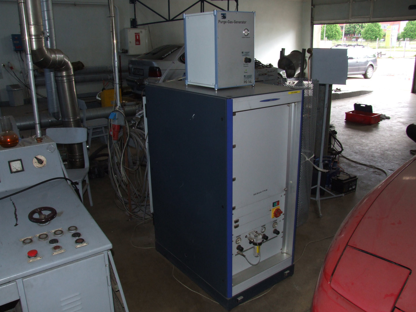 Exhaust gas analytical system