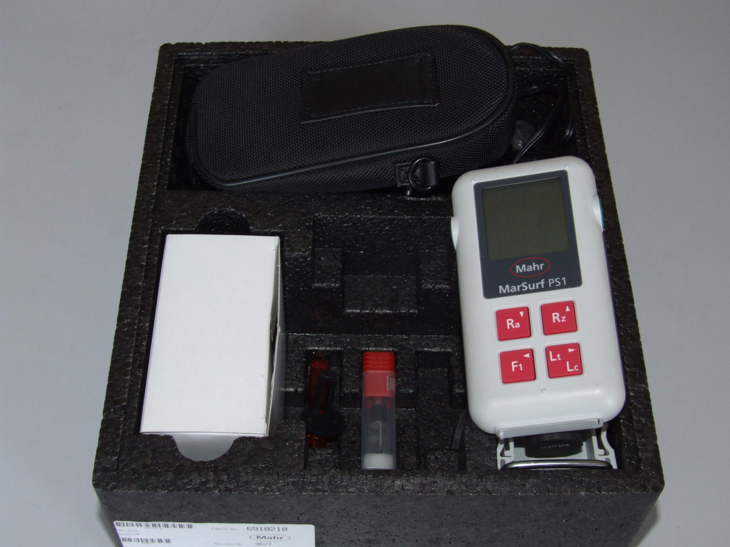 Material surface roughness tester