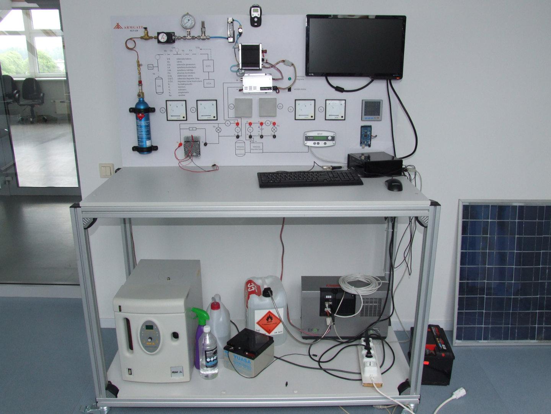 Hidrogen fuel cell.