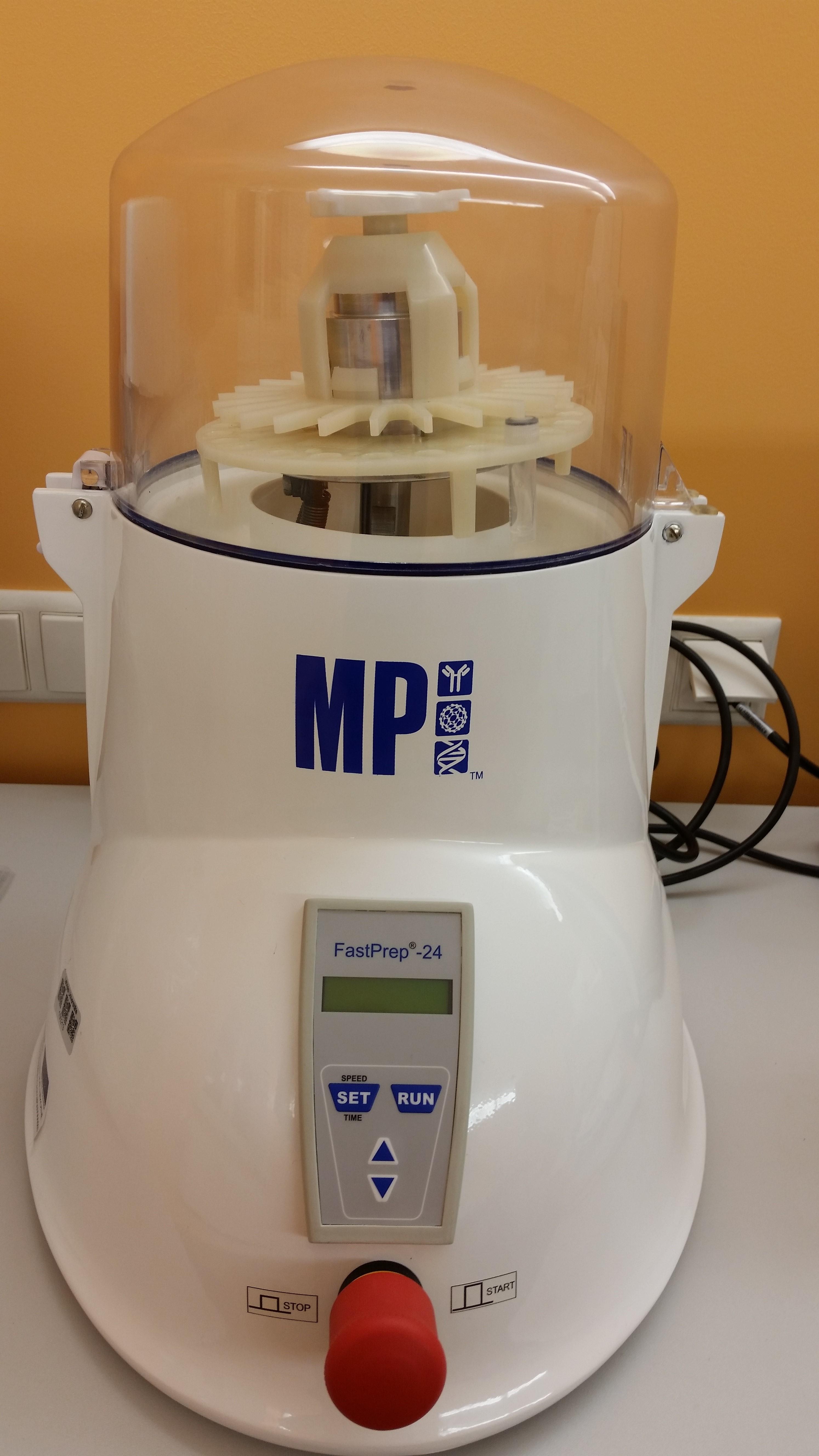 FastPrep-24 homogenizer