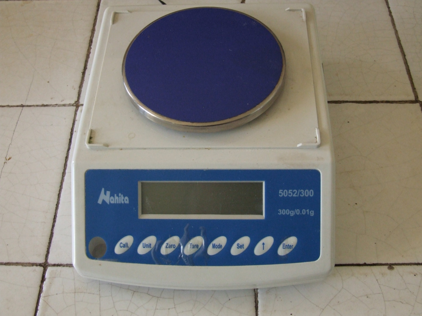 Digital scales of precision Nahita Serie 5052