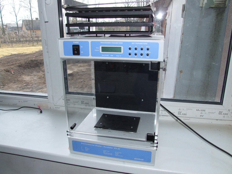 Shaker-incubator