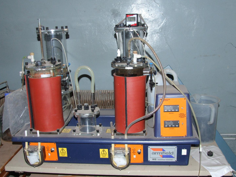Anaerob fermentation station