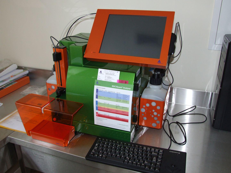 Digital benchtop  flow cytometer