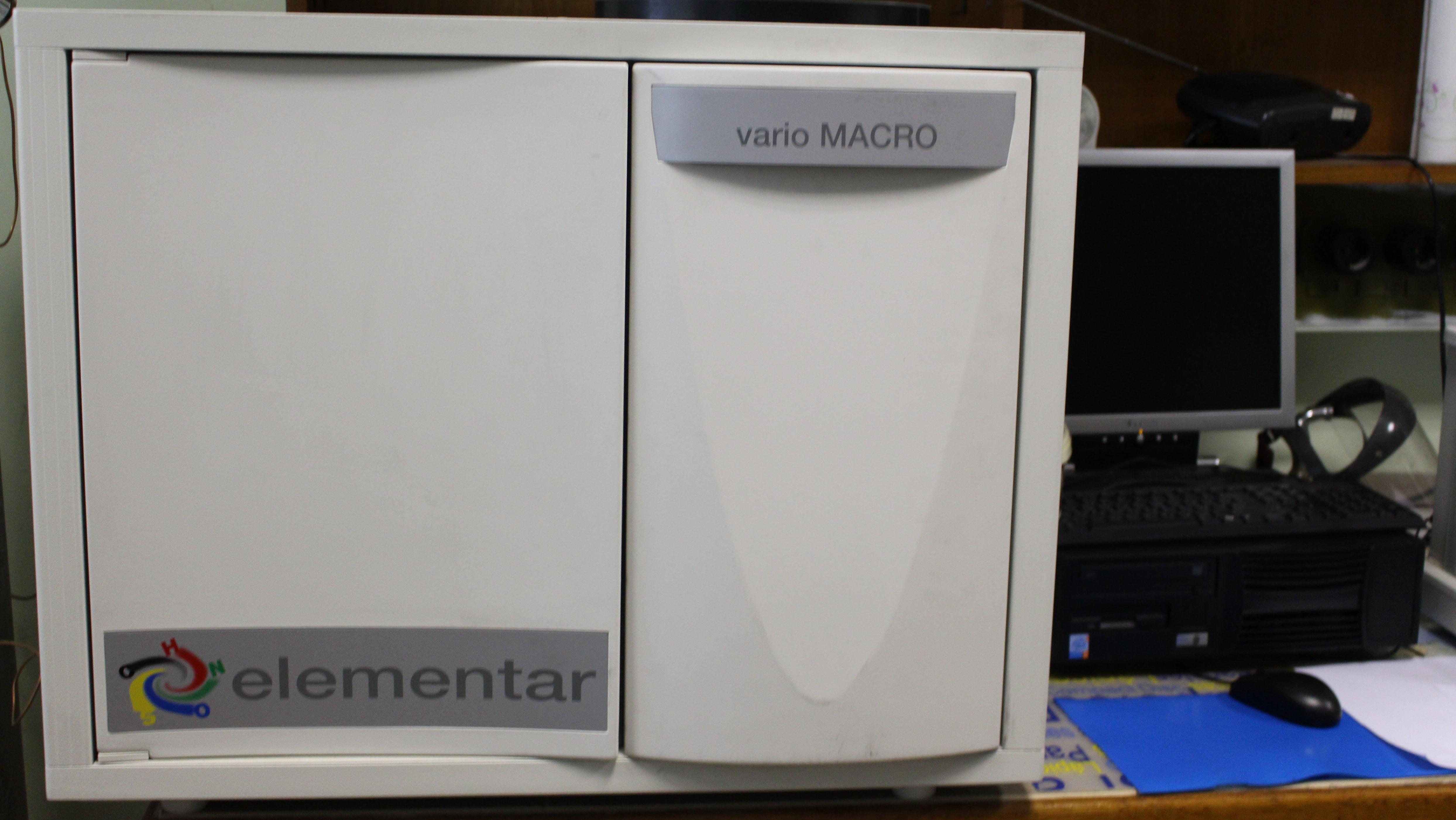 Elemental analysis (CHNS )