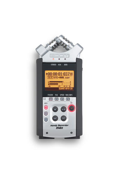 Handy Mobile 4-Track Recorder H4n kit with sinchronization