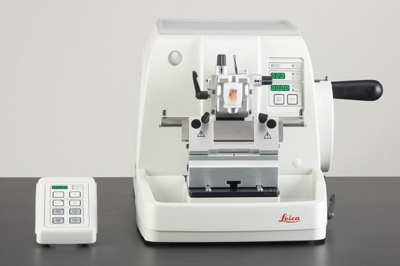 Semi-Automated Rotary Microtome