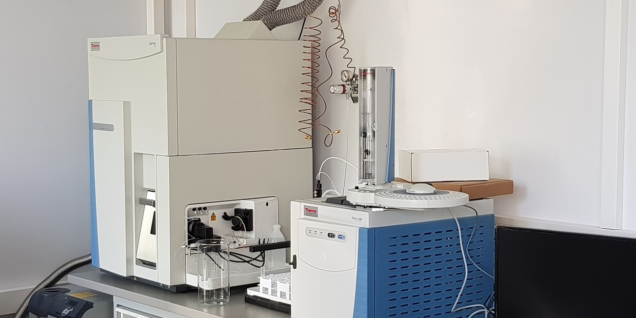 Thermo Scientific iCAP™ RQ ICP-MS coupled to gas chromatography system