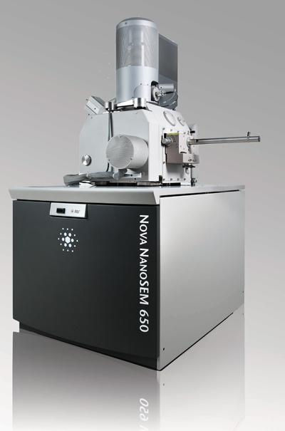 Scanning electron microscope (SEM) Nova NanoSEM 650