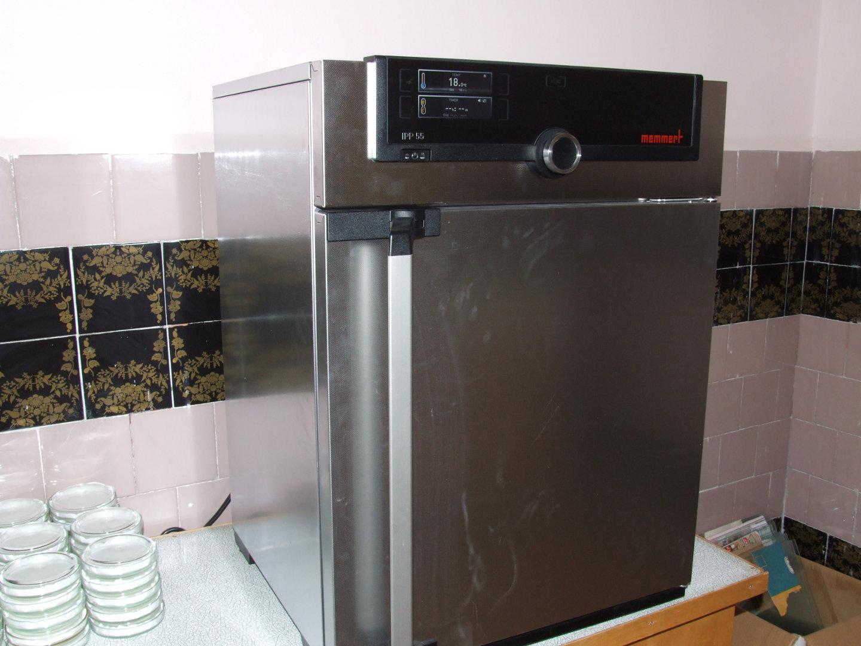 Peltier-cooled incubator