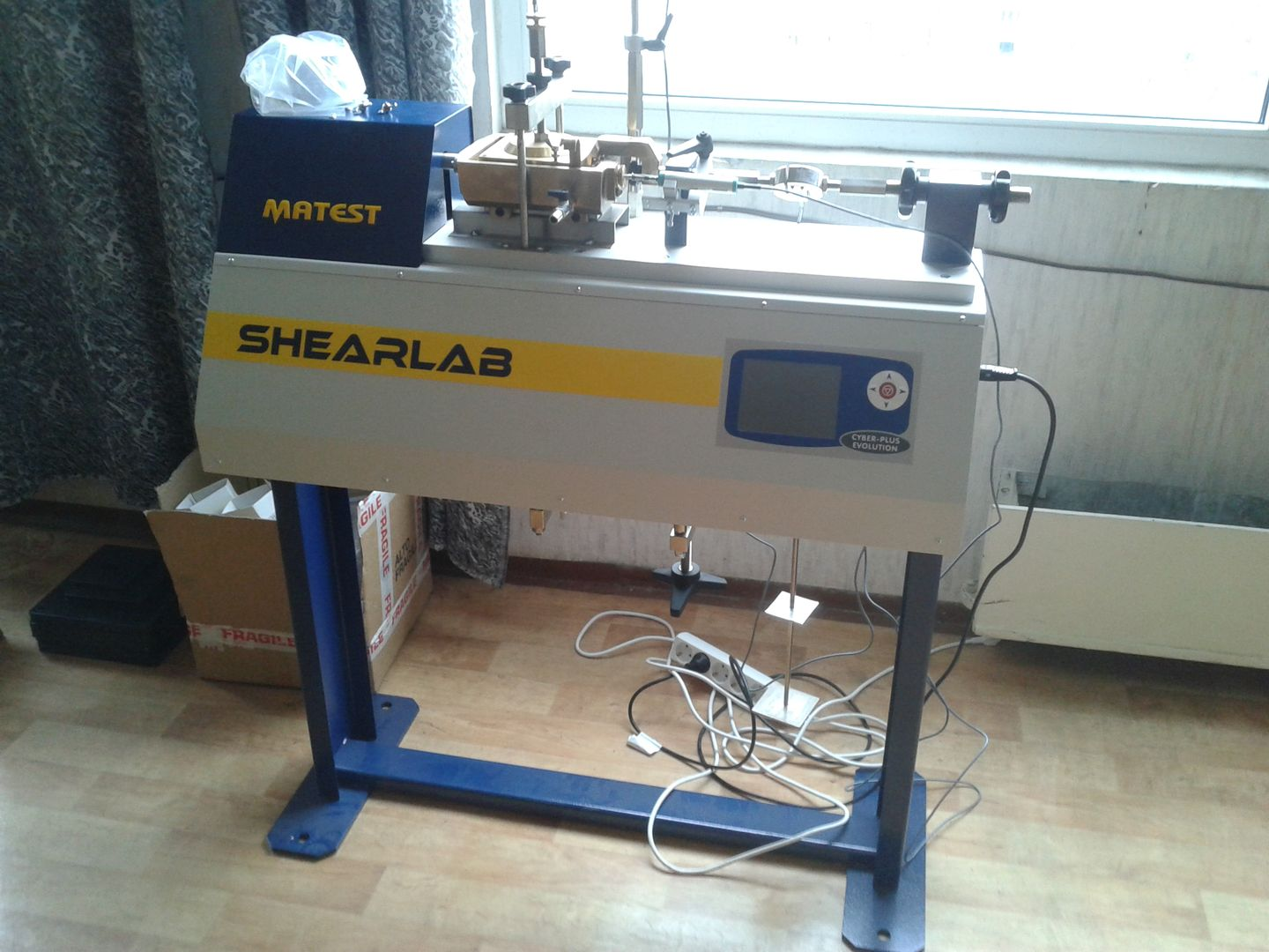 Digital Shear Testing Machine