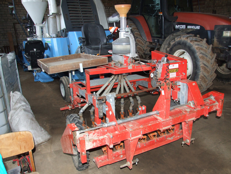 Trials seeding machine