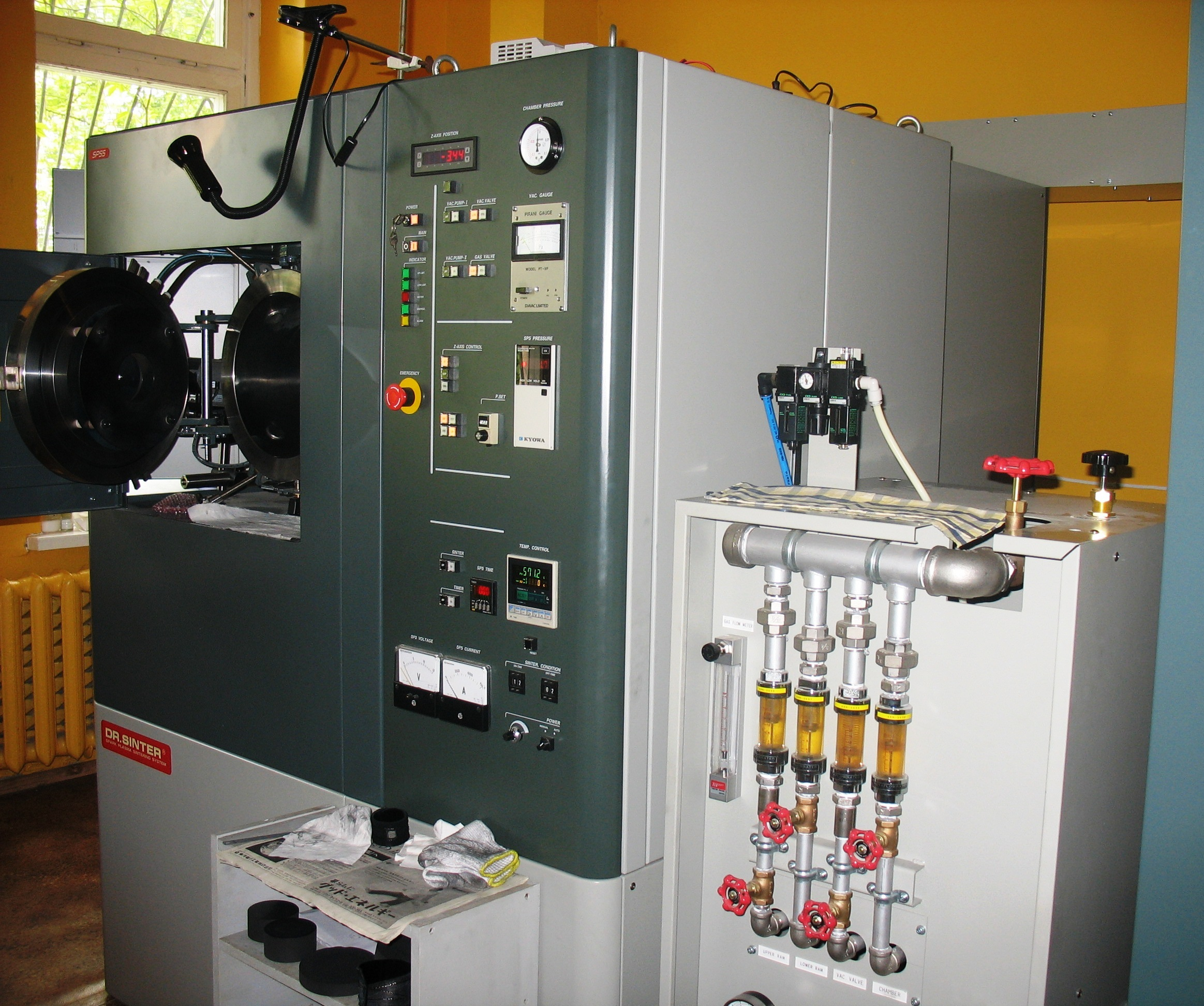 SPS-825.CE Compact spark plasma sintering system