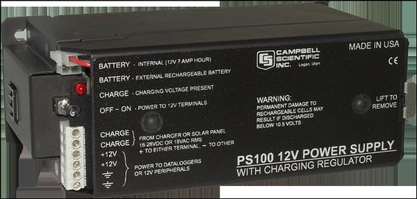Datalogger power supply