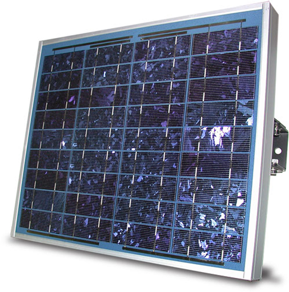 Datalogger power supply with Solar panel