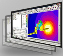 Electromagnetic and thermal finite element analysis software Flux 3D/2D