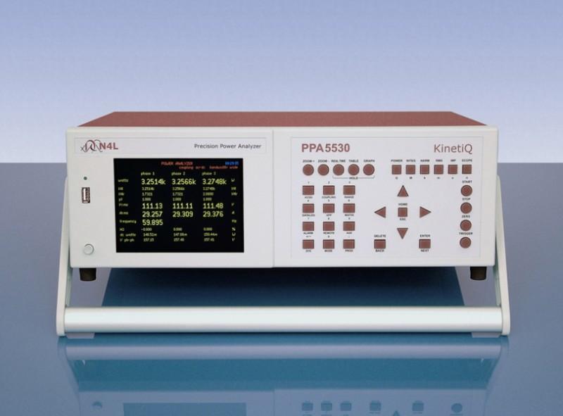 Three phase power analyser