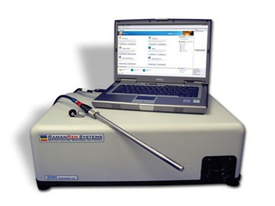 Reaction monitoring Raman Analyzer