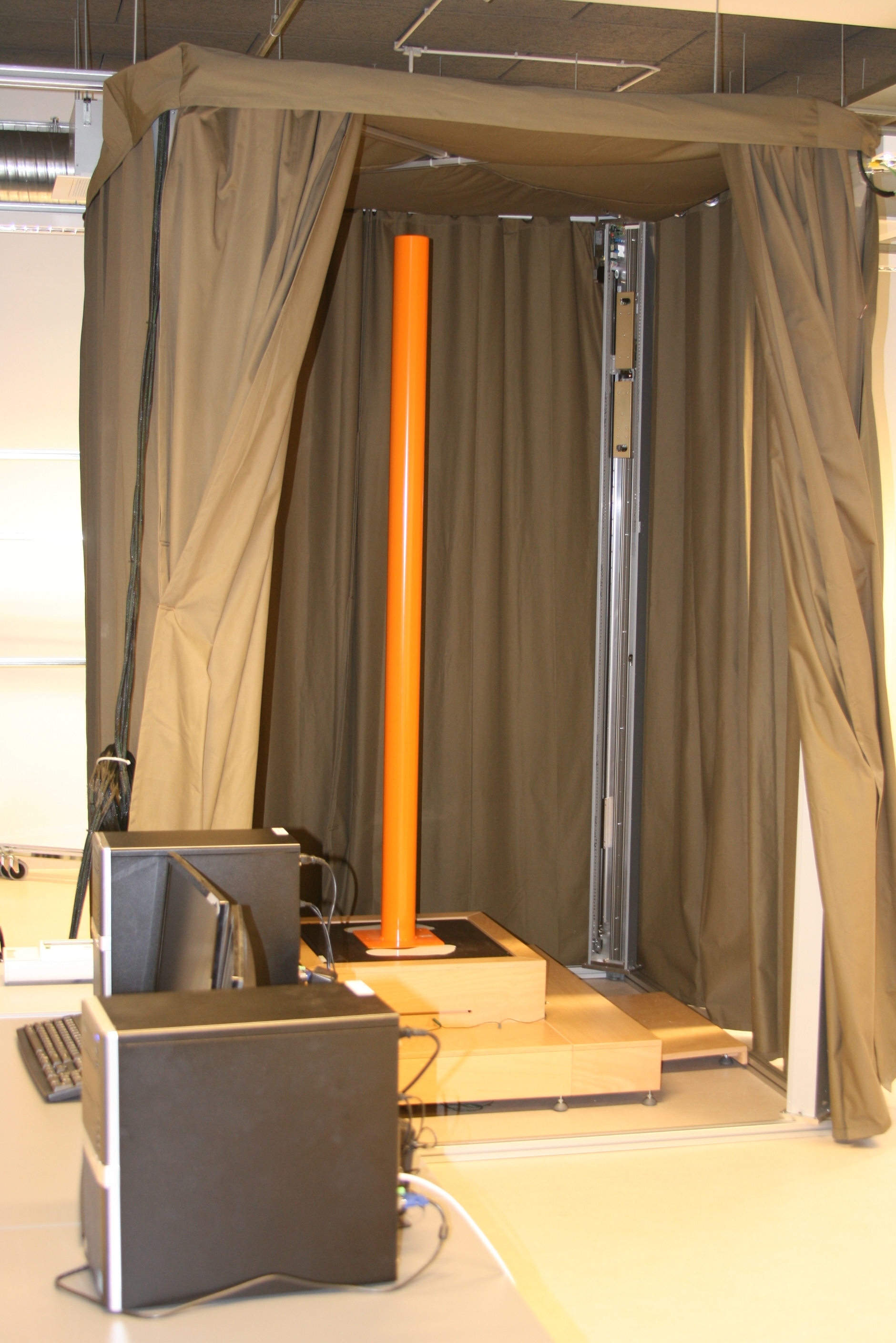 Optical measurement device - 3D body scanner