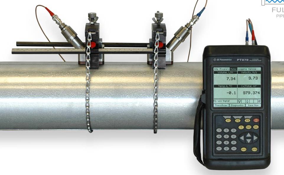 Panametrics PT878 flow meter rental 24 h
