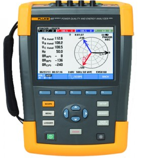 Fluke 434 power analyzer rental 1 h