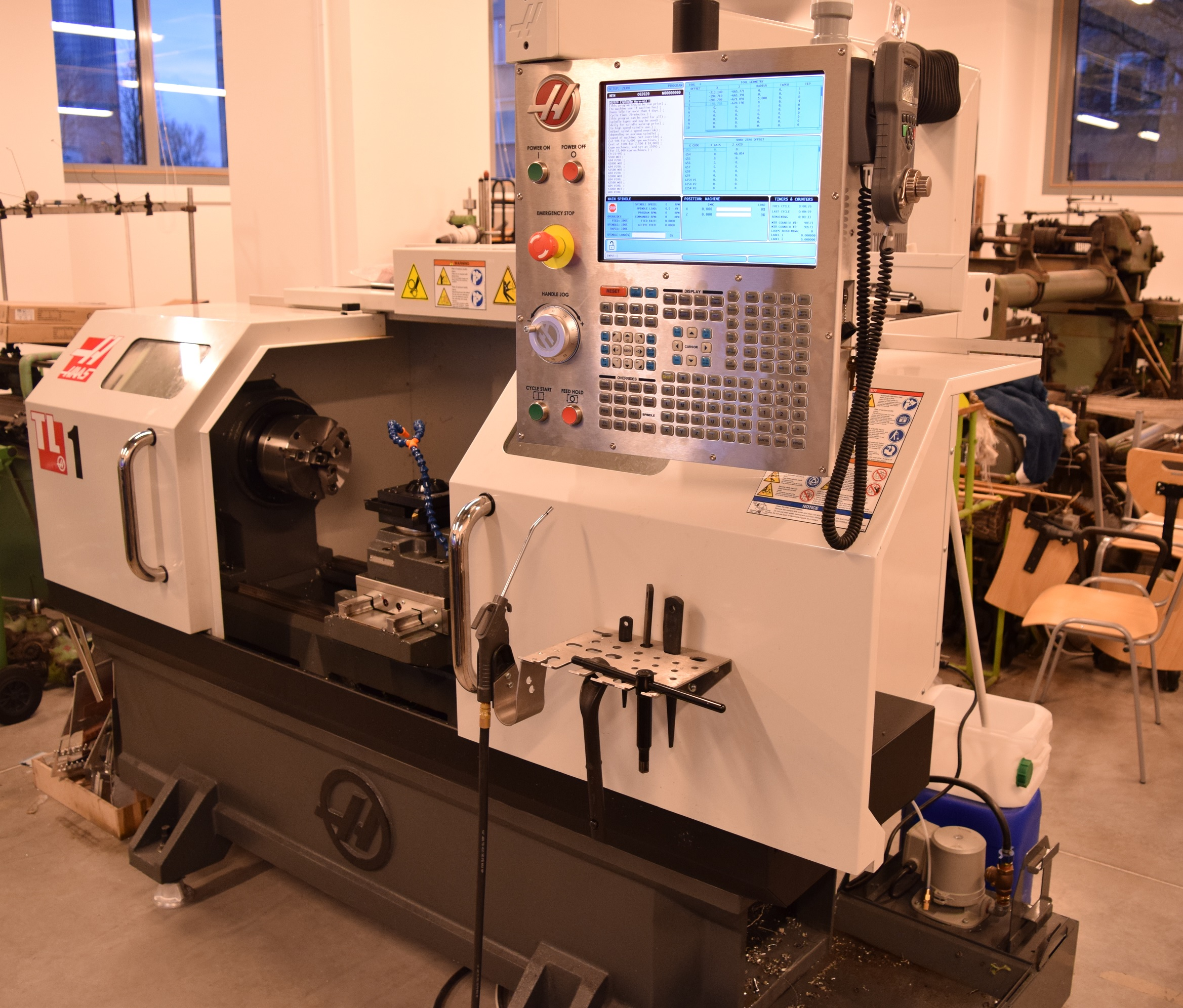 HAAS CNC Toolroom Lathe